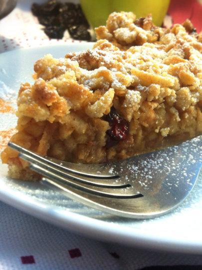 Zdravija pita od jabuka i brusnica