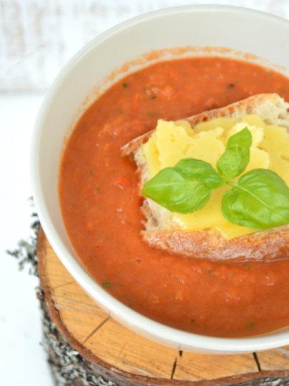 Juha od pečene rajčice