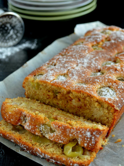 [ajme,koliko nas je!] Bakin kolač od badema i grožđa