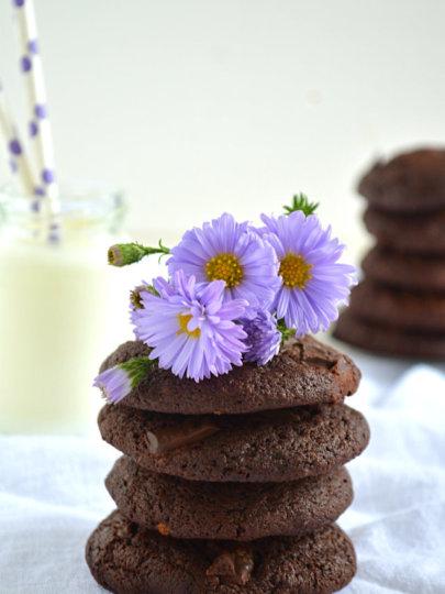 Dvostruko čokoladni keksi
