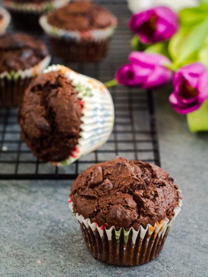 [video] Dvostruko čokoladni muffini