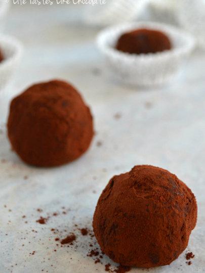 Čokoladne kuglice s aromom naranče