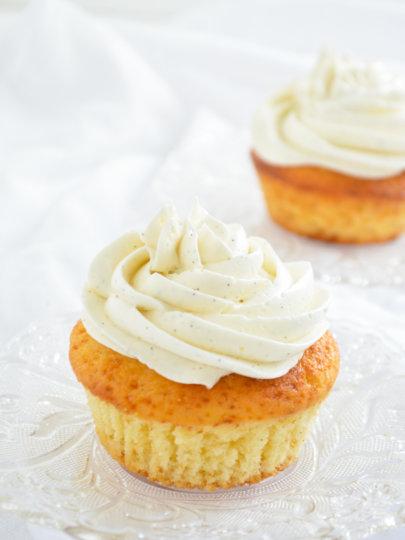 Pahuljasti cupcakes od vanilije