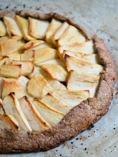 Galetta od heljdinog i integralnog brašna s jabukama + darivanje!