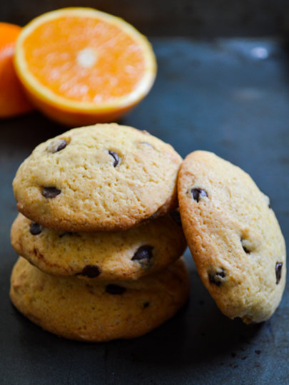 Zimski keksi s narančom i čokoladom