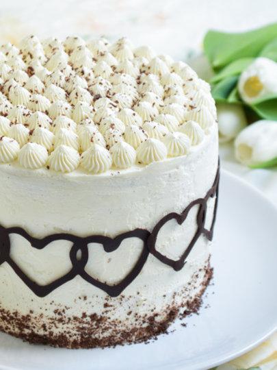 Čokoladna torta s karamelom, vanilijom i mascarponeom – Nevina druga torta