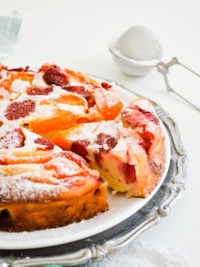 Clafoutis s jagodama i marelicama – ili bilo kojim voćem