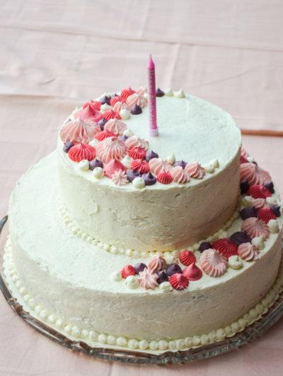 Nevin prvi rođendan i moja prva torta na kat