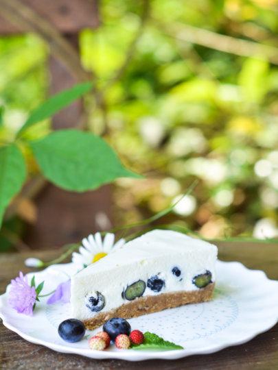 [VIDEO] Nepečena torta od jogurta i borovnica