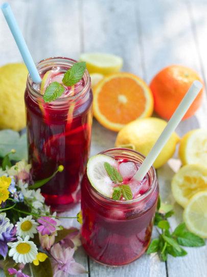 Voćni ledeni čaj s agrumima