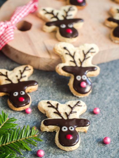 [Video] Kako naraviti kekse s motivom Rudolfa
