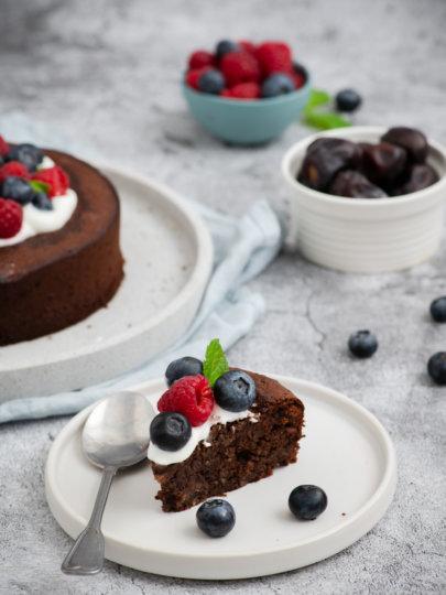 Brownie bez brašna i bijelog šećera