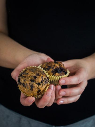 Doručak muffini od pira sa zobenim pahuljicama i još svačim