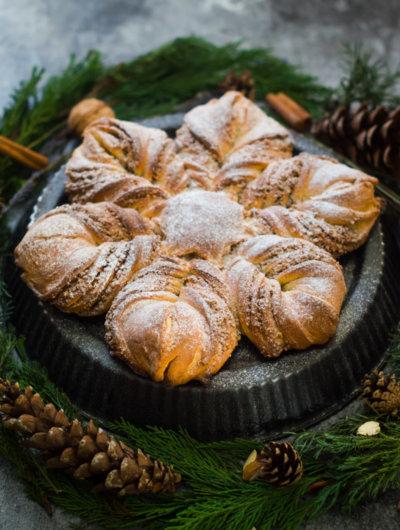 [Video] Kruh – zvijezda s bademima i cimetom