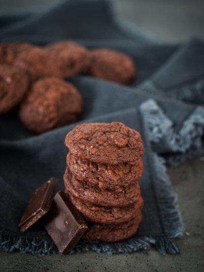 Žvakavi čokoladni keksi