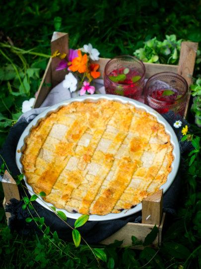 Pita od borovnica i sira