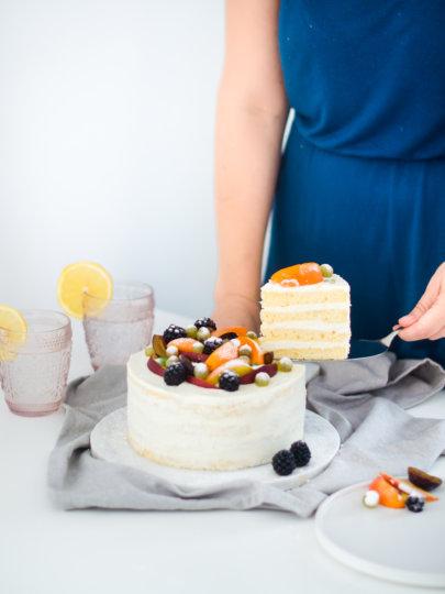 Torta od svježeg sira i limuna