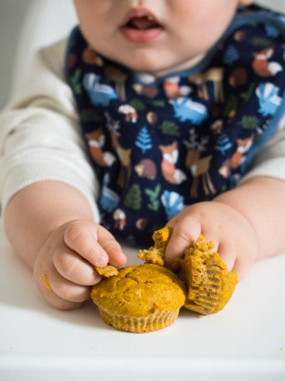 Muffini od bundeve {8-9 mjeseci}