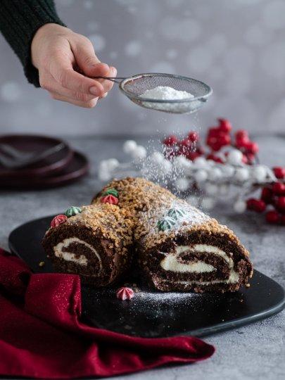 [Video] Božićni kolači: Božićni panj