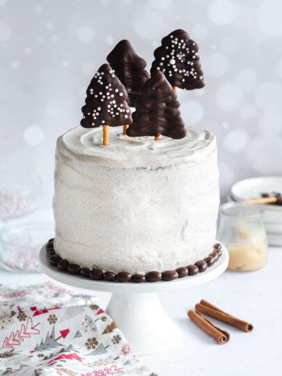 Zimska torta: čokolada, cimet, mascarpone i karamel