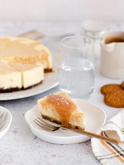 Torta od sira i bundeve sa slanim karamelom